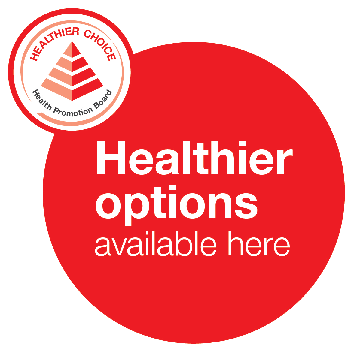 Healthier Options available here